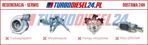 Turbosprężarka 454207 MERCEDES SPRINTER 2.9